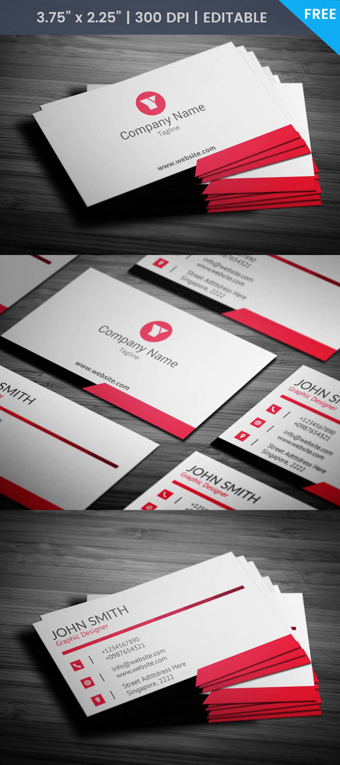 Free Ad Agency Business Card Template