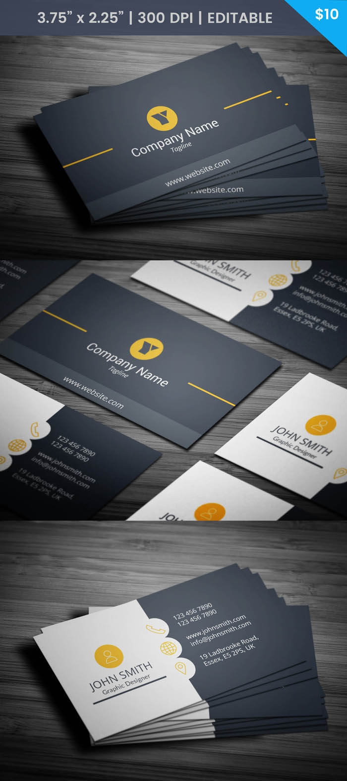 Trainer Business Card - Full Preview