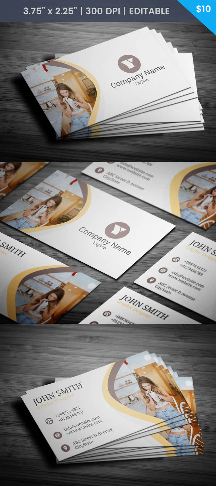 Free Digital Marketer Business Card Template