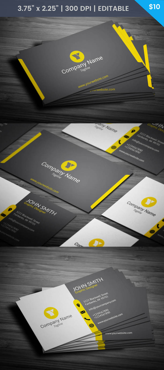 Free Modern And Minimal Lawyer Business Card Template