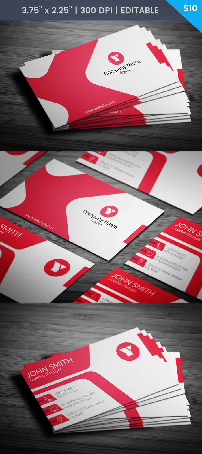 Free 3d Artist Business Card Template