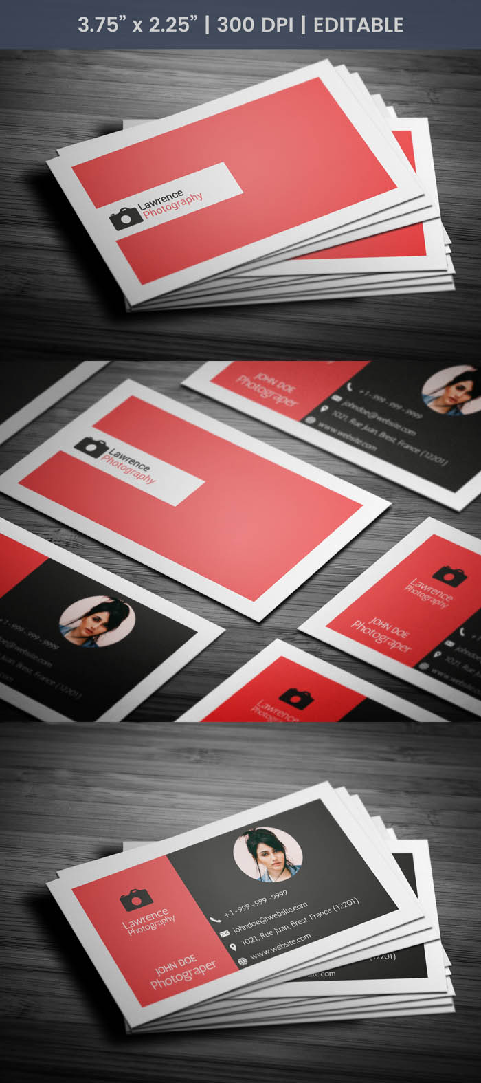 Real Estate Photography Business Card - Full Preview