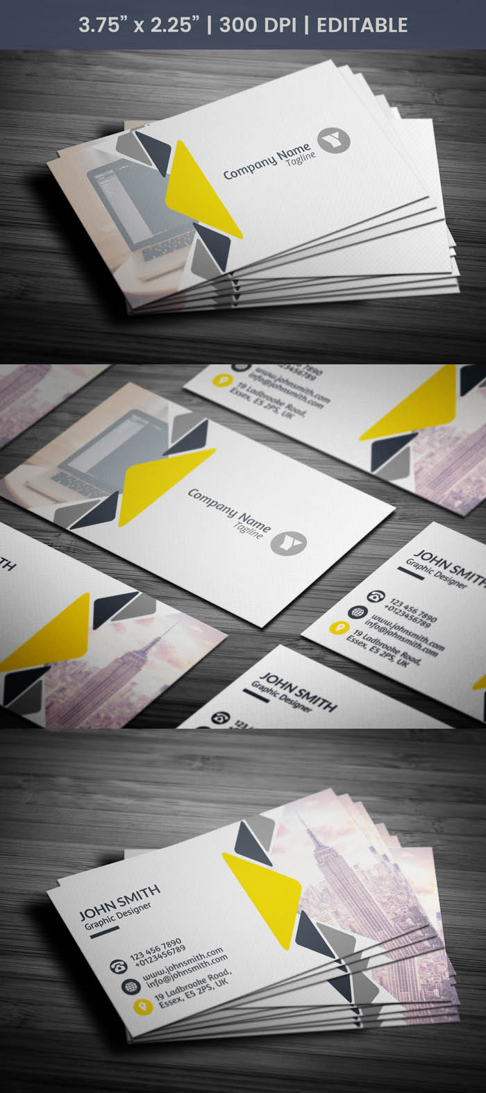 Free Luxury Real Estate Business Card Template