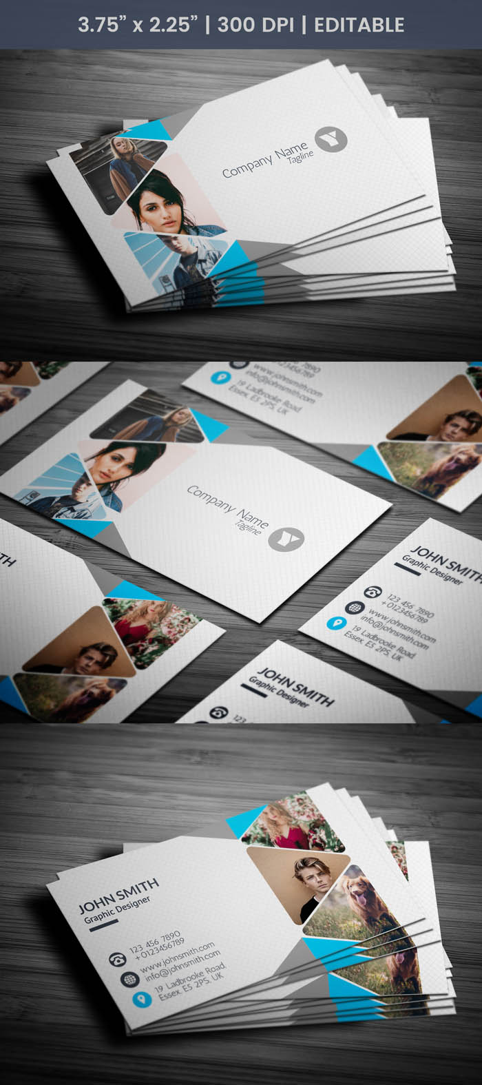 Free Professional Photography Business Card Template