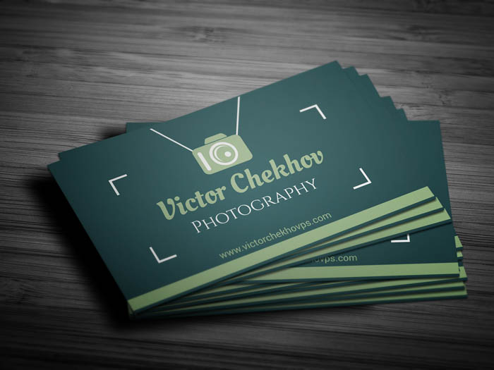 Wedding Photography Business Card - Front