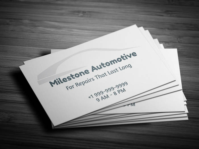 Free auto detailing business card template auto detailing business card front accmission Choice Image