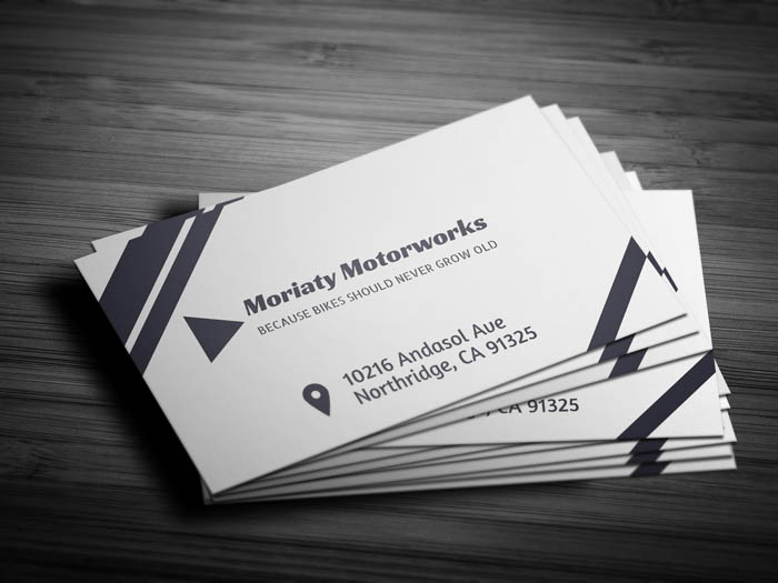 Automobile Business Card - Front