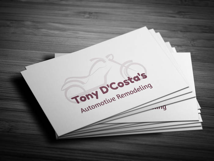 Bike Business Card - Front