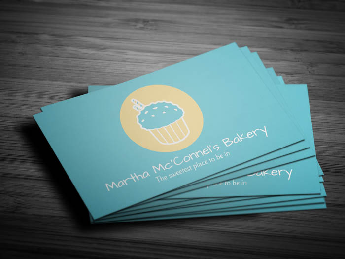 Baker Business Card - Front