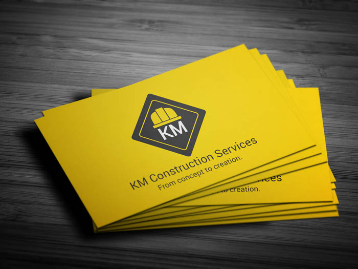 Renovation Business Card - Front