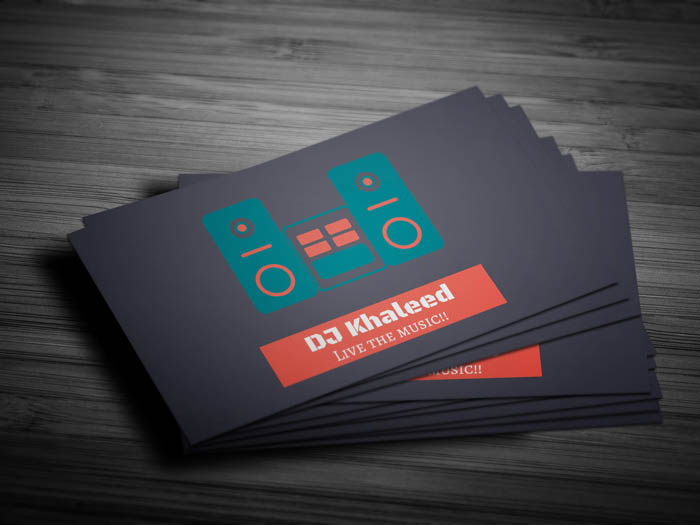 Cassette Tape Business Card - Front