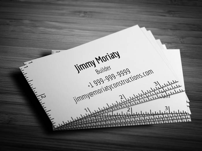 minimal architect business card - Architect Business Card
