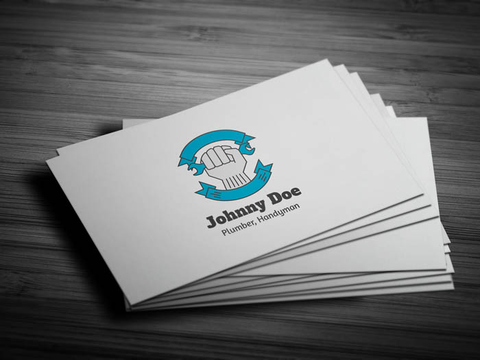 Plumber Business Card - Front
