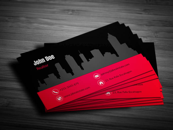 Realtor Business Card - Front