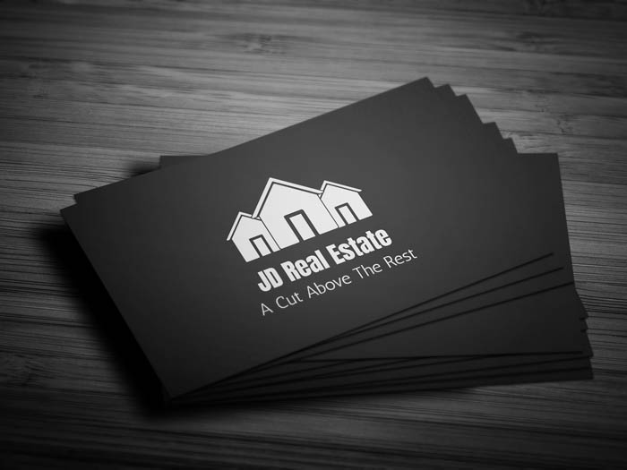 Real Estate Agency Business Card - Front