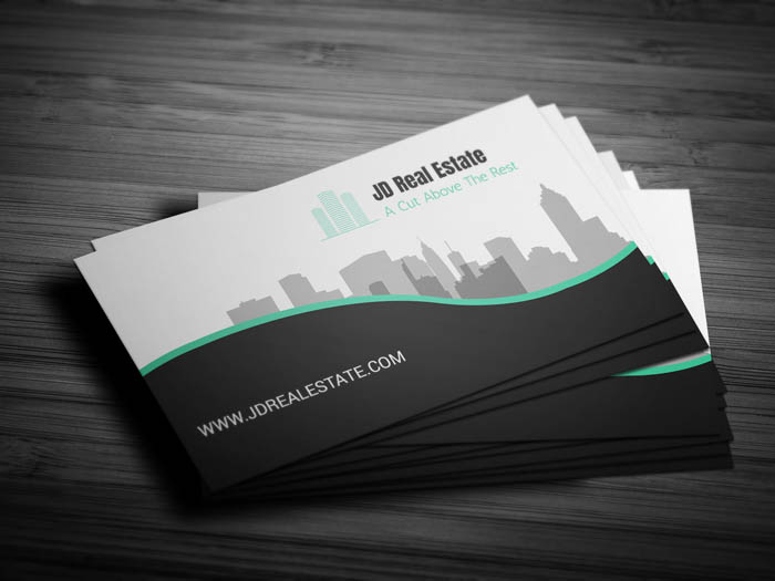 Property Management Business Card - Front