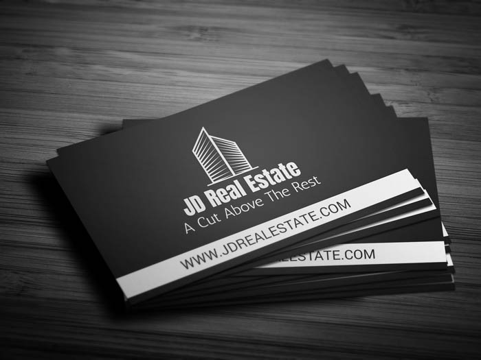 Realty Business Card - Front