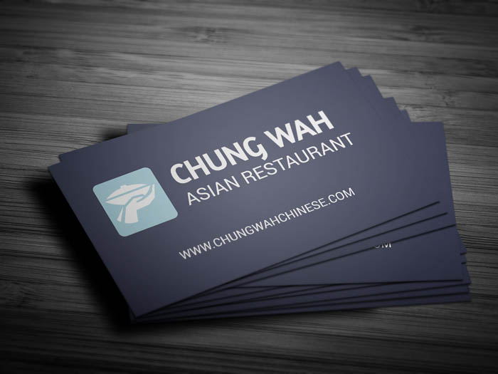 Dining Restaurant Business Card - Front
