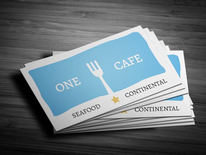 Beer Cafe Business Card - Front