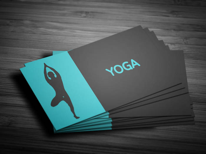 Prenatal Yoga Business Card - Front