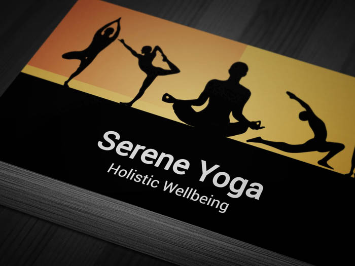 Reiki Business Card - Front