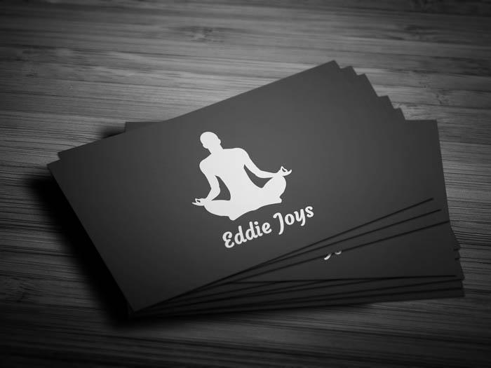 Meditation Business Card - Front
