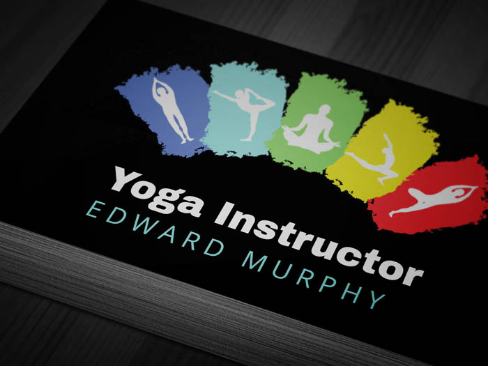 Yoga Therapy Business Card - Front
