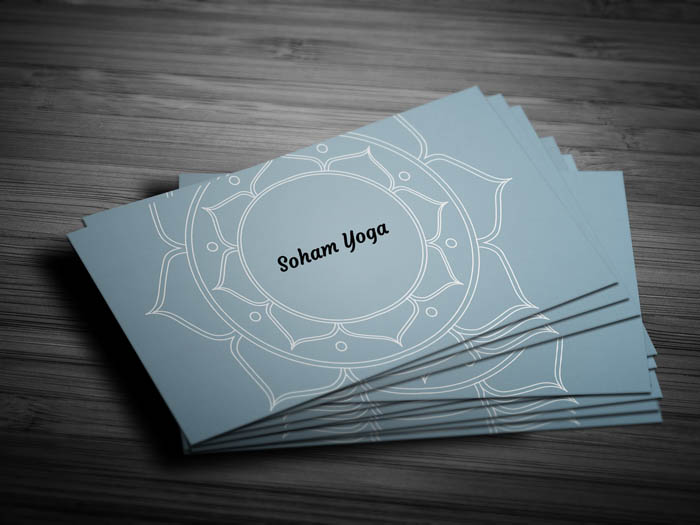 Lotus Business Card - Front