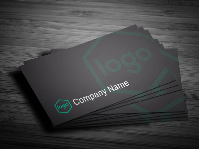 Professional Business Card - Front