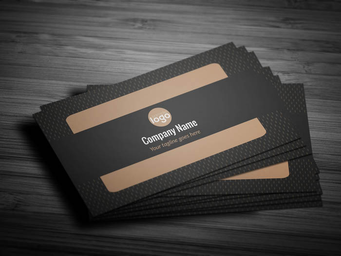 Luxury Business Card - Front