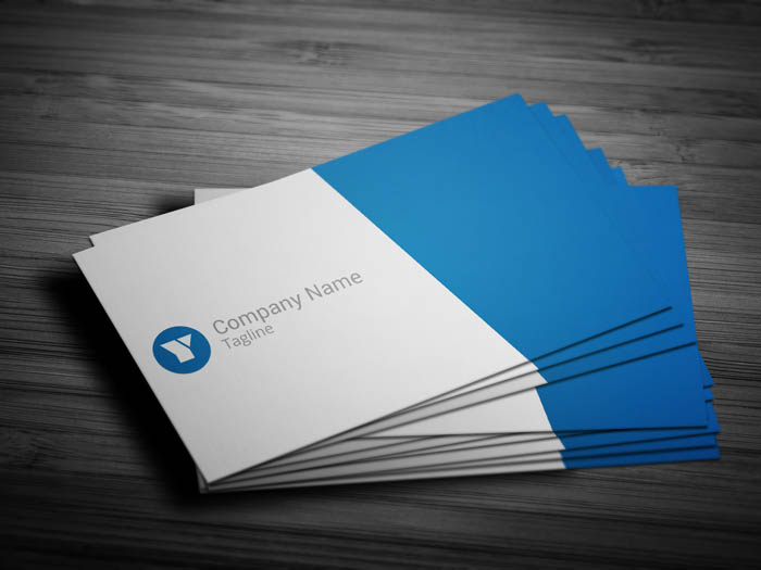 Corporate Event Planning Business Card - Front