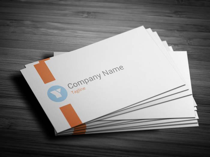 Elegant Designer Business Card - Front