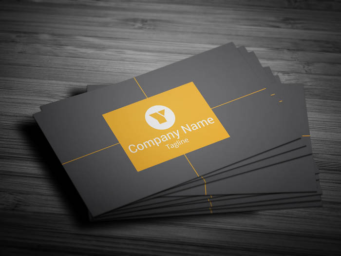 Social Media Manager Business Card - Front