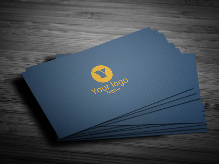 Blogging Business Card - Front