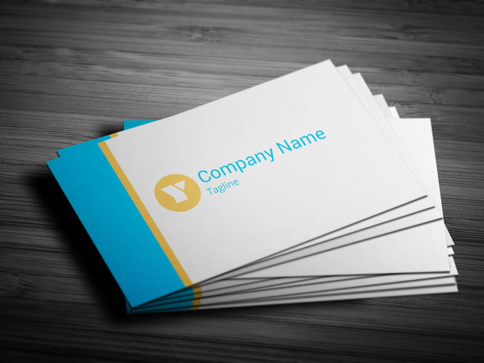 Financial Advisor Business Card - Front