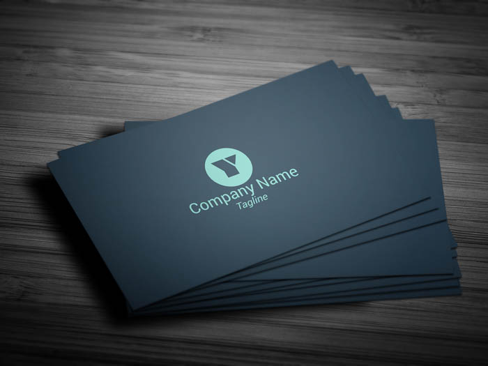 Sales Representative Business Card - Front