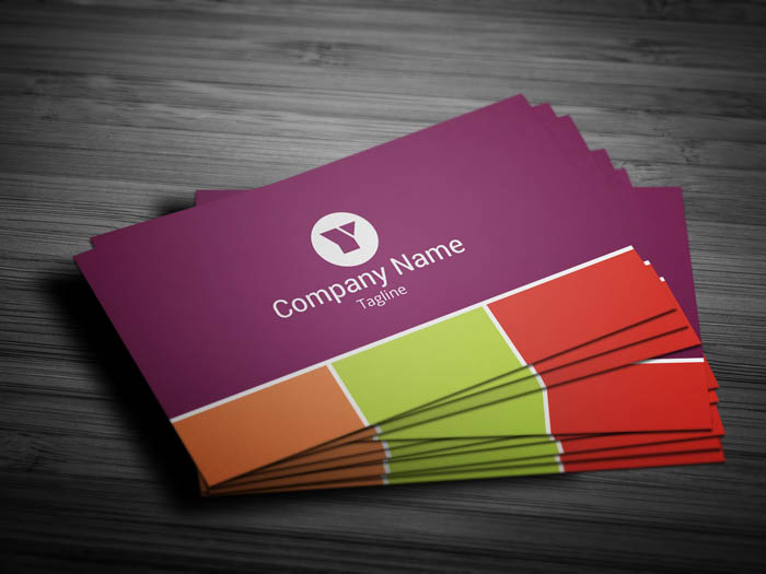 Concept Artist Business Card - Front