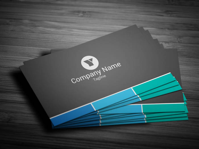 Sales Executive Business Card - Front