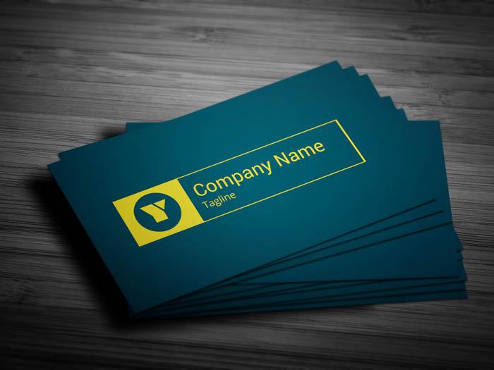 Fashion Designer Business Card - Front
