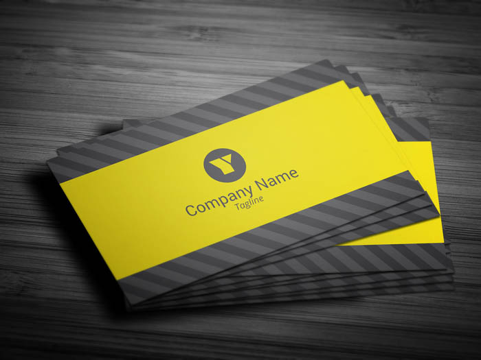 Media Business Card - Front