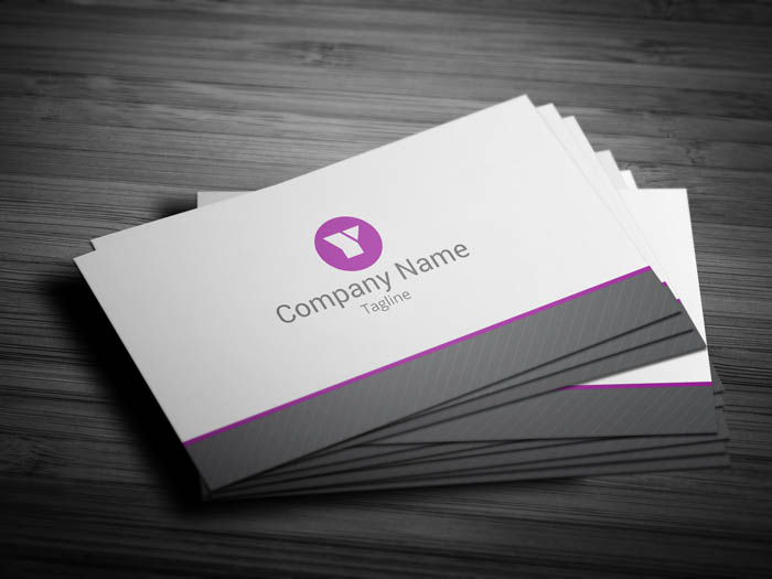 Marketing Business Card - Front