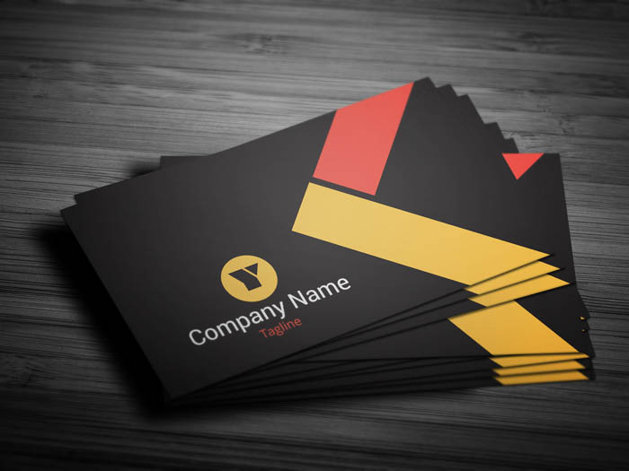Classy Business Card - Front