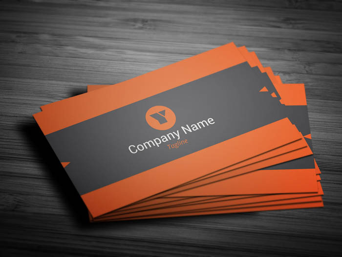 Insurance Agent Business Card - Front