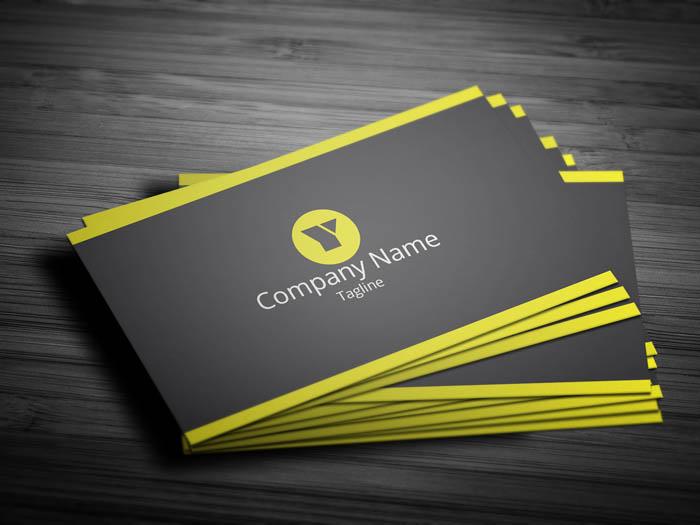 Management Business Card - Front