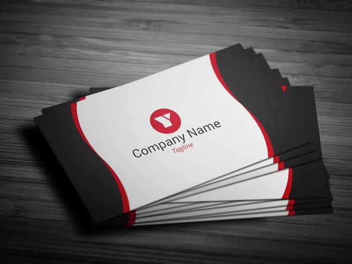 Sleek Web Designer Business Card - Front