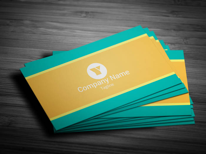 Wedding Service Business Card - Front