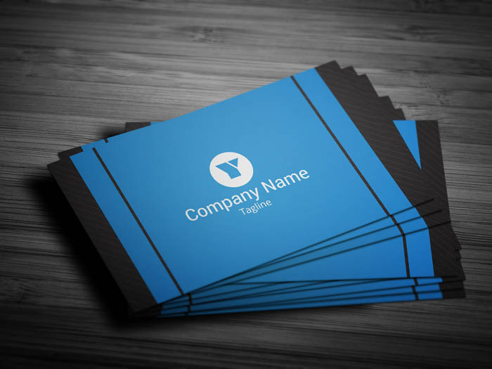Modern Entrepreneur Business Card - Front