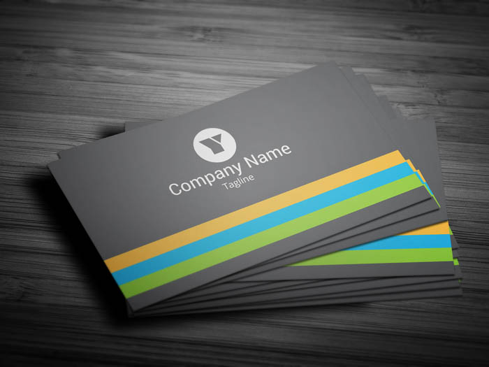 Marketing Manager Business Card Front