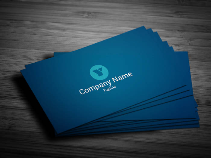 Project Manager Business Card - Front