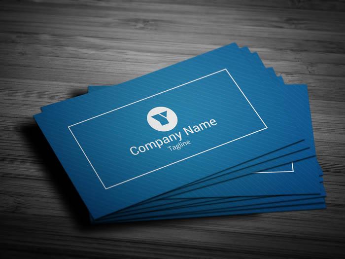 Entrepreneur Business Card - Front